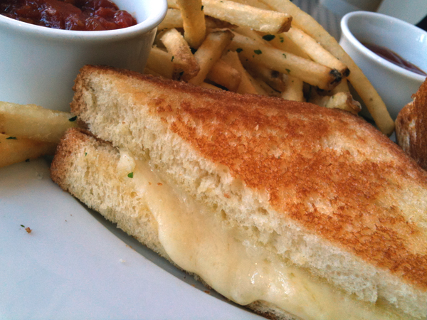 FIG at Fairmont - Simple Grilled Cheese Sandwich