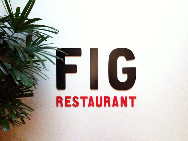 FIG at Fairmont - Sign